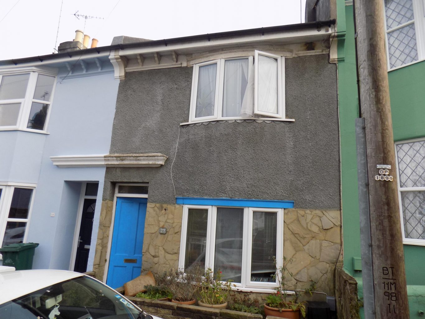 Image of the front of a house in Hanover brighton | Open House estate agents
