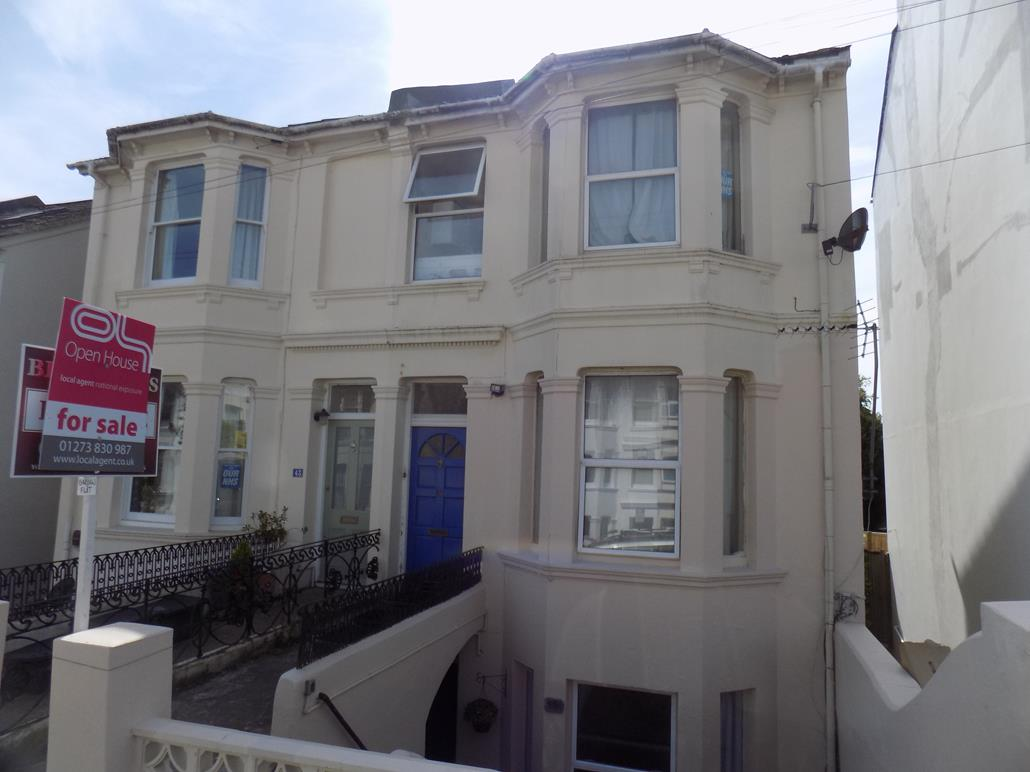 Image of the front of a flat in Brighton | Open House Estate Agents Brighton