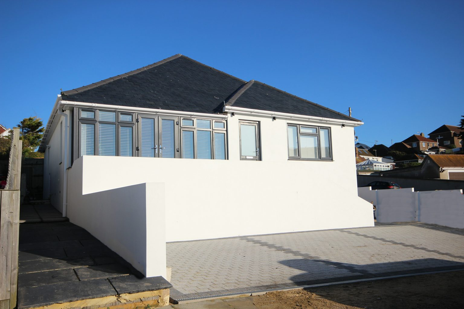 Image of the front of a bungalow in Saltdean| Open House Saltdean