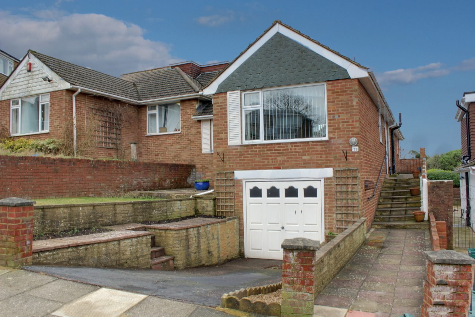 Image of the outside of a bungalow in Woodingdean | Open House Estate Agents Woodingdean
